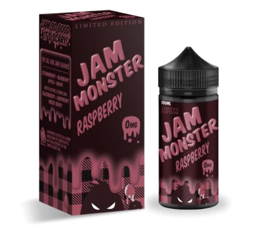 Jam Monster Raspberry 100ml Liquid