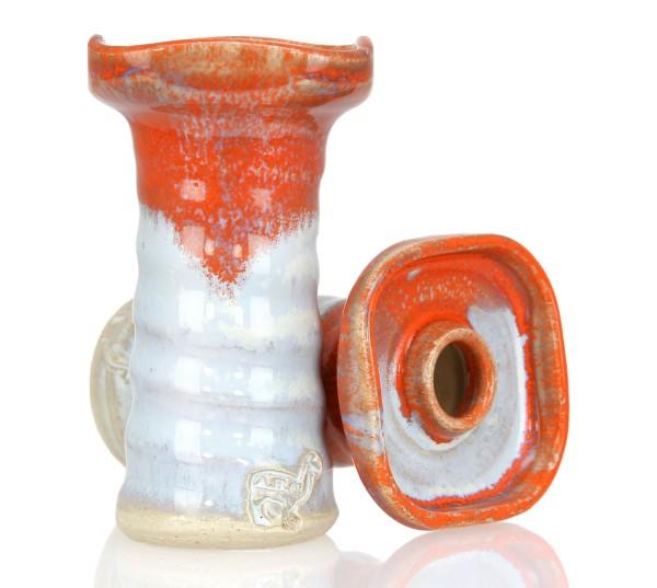Alpaca Bowl Square Snow Orange