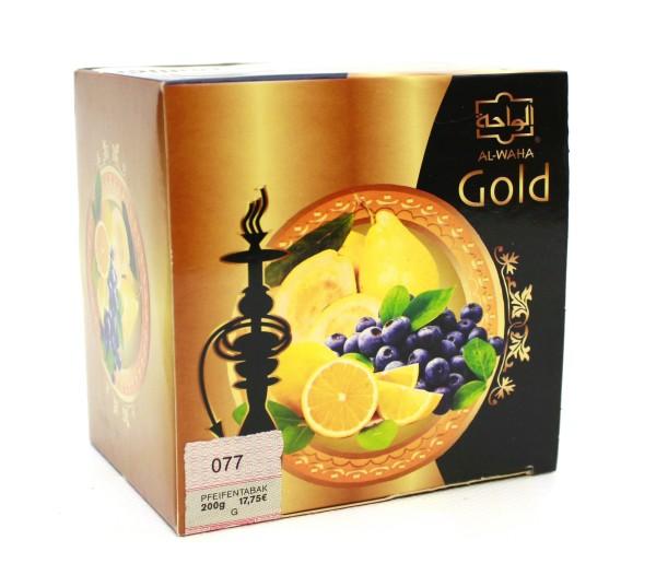 Al Waha Gold Blue Stampede Shisha Tabak 200g