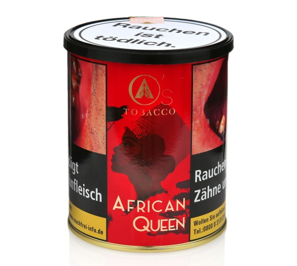 O's Tobacco African Queen Shisha Tabak 1000g