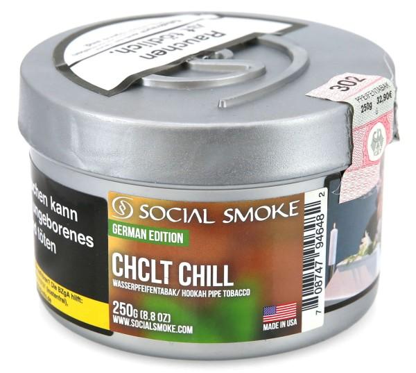 Social Smoke Chclt ChillShisha Tabak 250g