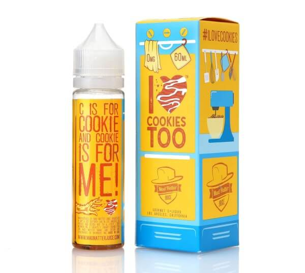 Mad Hatter I Love Cookies too DIY Liquid 50ml