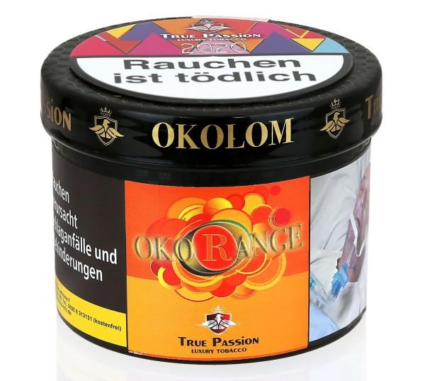True Passion Okorange Shisha Tabak 200g