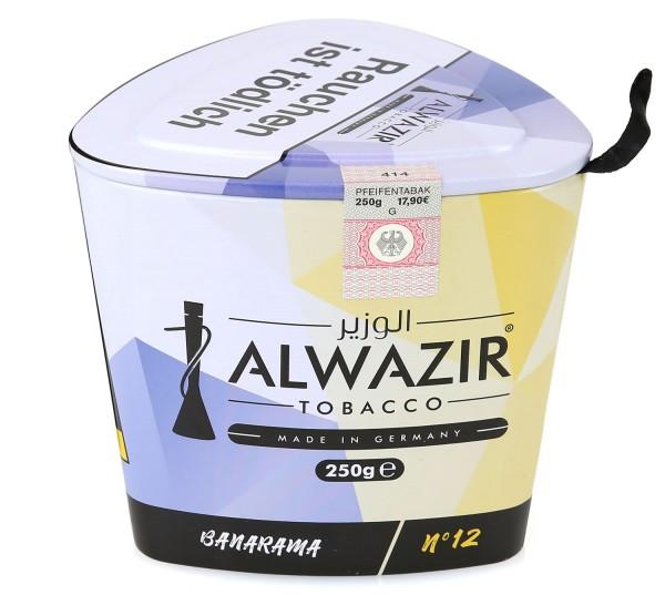 Alwazir No. 12 Banarama Shisha Tabak 250g