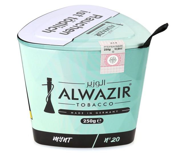 Alwazir No. 20 Mynt Shisha Tabak 250g