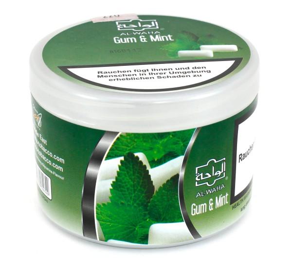 Al Waha Gum Meend (Gum Mint) Shisha Tabak 200g