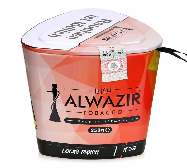 Alwazir No. 33 Loony Punch Shisha Tabak 250g