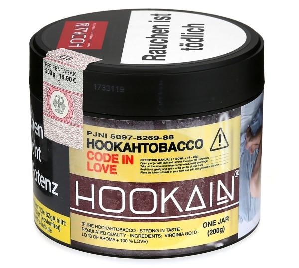 Hookain CODE IN LOVE Shisha Tabak 200g