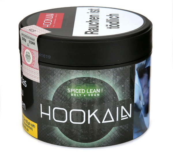 Hookain Spiced Lean Shisha Tabak 200g