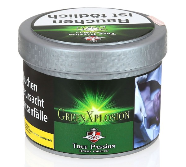 True Passion Green Xplosion Shisha Tabak 200g
