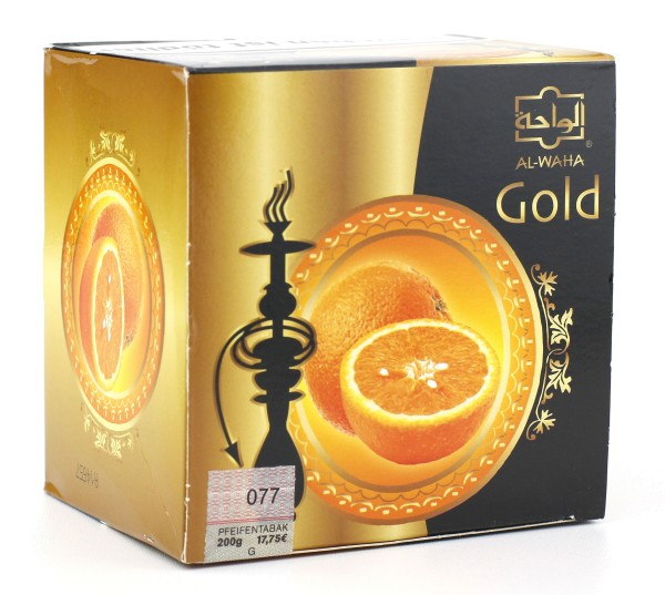 Al Waha Gold Orange Shisha Tabak 200g