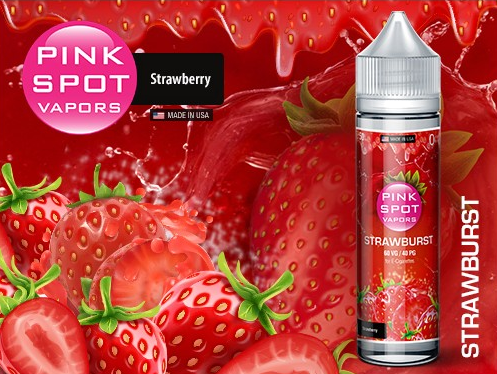 Pink Spot - Strawburst DIY Liquid 50ml