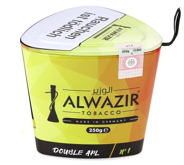 Alwazir No. 1 Double Apl Shisha Tabak 250g