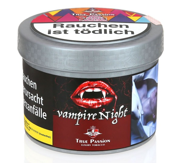 True Passion Vampire Nights Shisha Tabak 200g