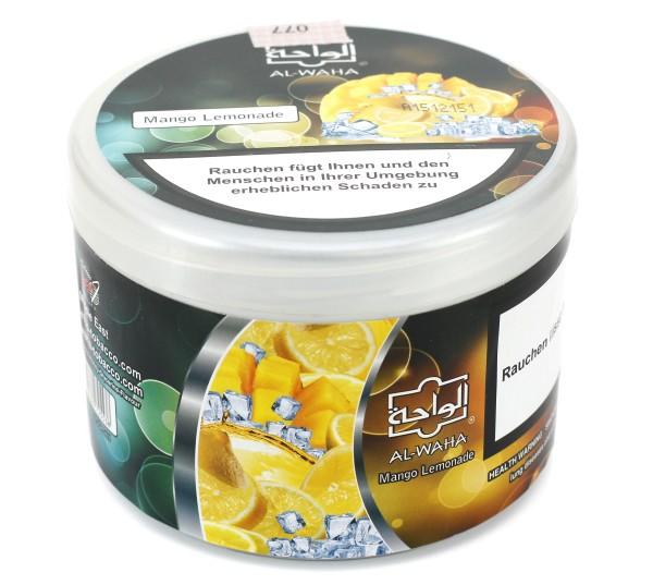 al waha mang lemonade mango lemonade shisha tabak 200g al waha shisha tabak elwano. Black Bedroom Furniture Sets. Home Design Ideas