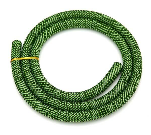 Silikonschlauch Sleeved Schwarz Grün
