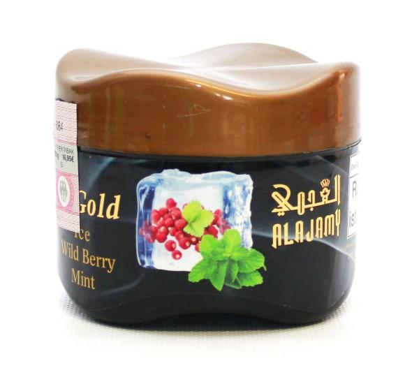 Al Ajamy Gold Ice Wildberry Mint Shisha Tabak 200g