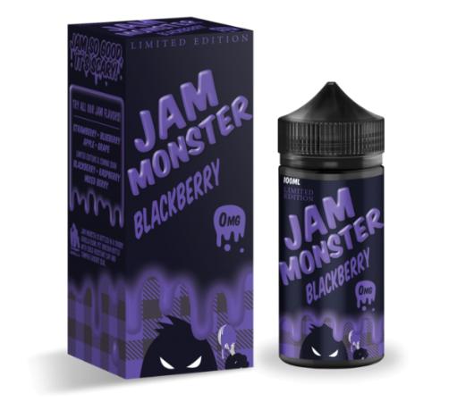 Jam Monster Limited Edition Blackberry 100ml Liquid