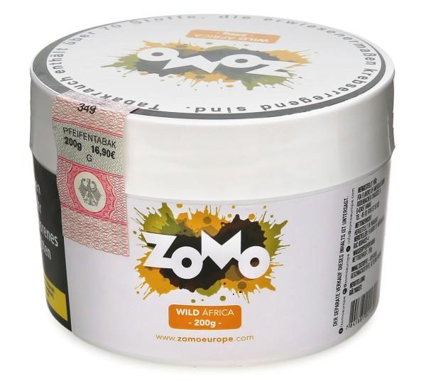 Zomo Wild Africa Shisha Tabak 200g