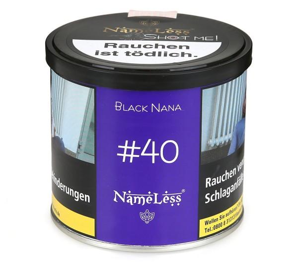 Black Nana #40 Shisha Tabak 200g