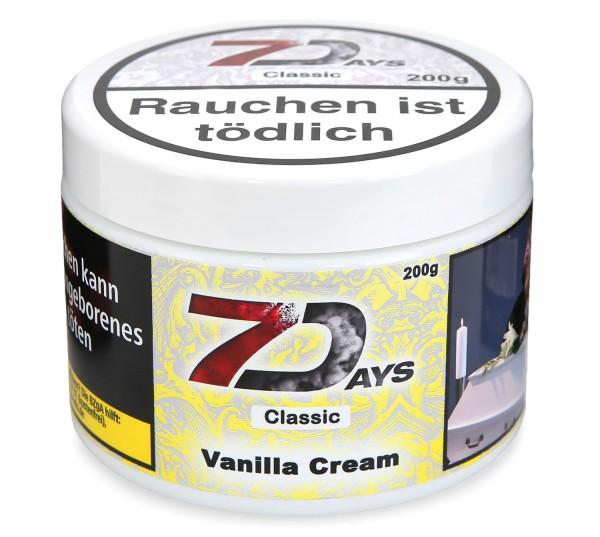 7Days Vanilla Cream Shisha Tabak 200g
