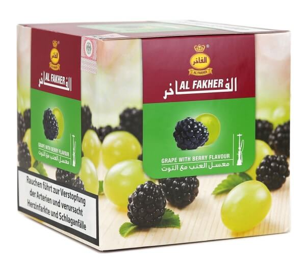 Al Fakher Grape with Berry Shisha Tabak 1kg