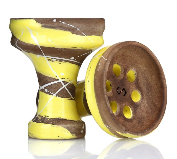 Conceptic Design Killer Yellow Shisha Tabakkopf