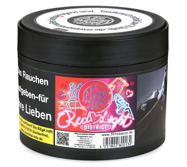 187 Straßenbande Red Light District Shisha Tabak 200g