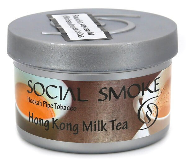 Social Smoke Hong Kong Milk Tea Shisha Tabak 250g