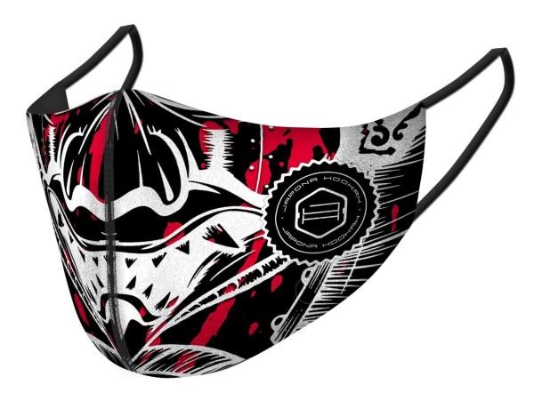Japona Hookah Mask Black&Red Samurai