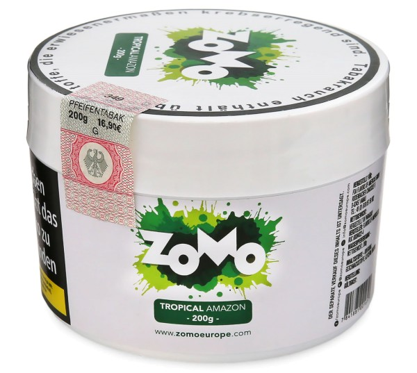Zomo Tropical Amazon Shisha Tabak 200g