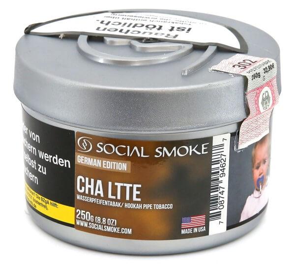 Social Smoke Chai Latte Shisha Tabak 250g