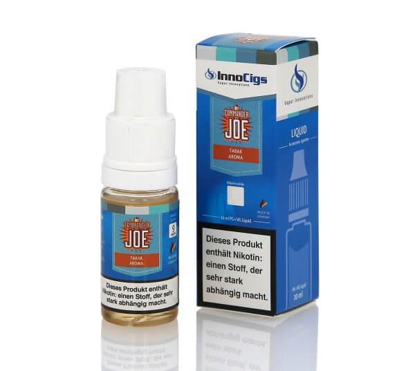 InnoCigs Commander Joe - Tabak Aroma e-Liquid