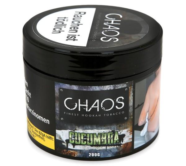 Chaos Cucumbra Shisha Tabak 200g