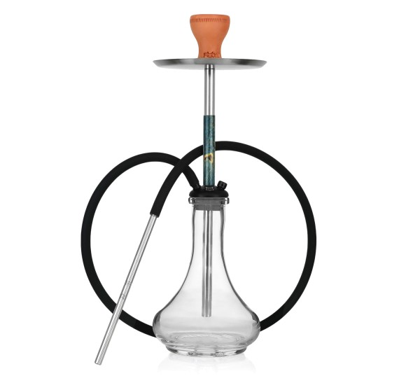 Fox Hookah Little Stab Blue Green