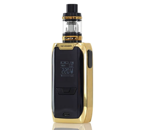 vaporesso revenger how to set clock