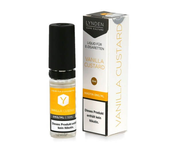 Lynden E-Liquid Vanilla Custard