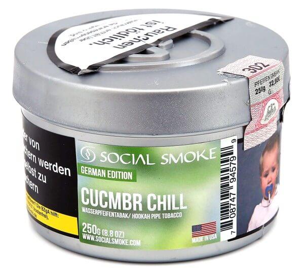 Social Smoke Cucumber Chill Shisha Tabak 250g