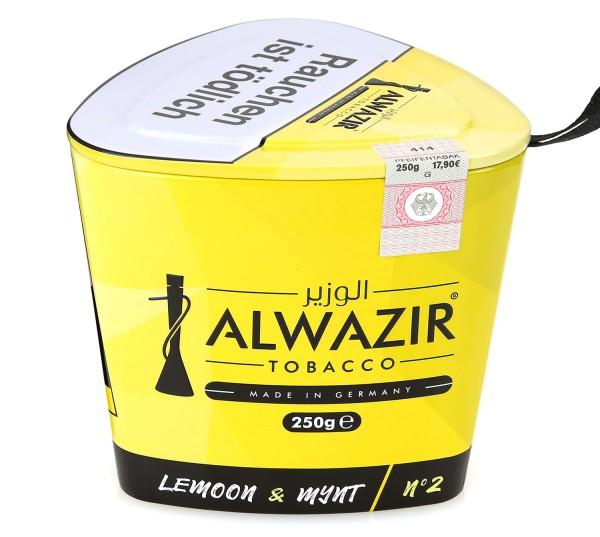 Alwazir No. 2 Lemoon & Mynt Shisha Tabak 250g