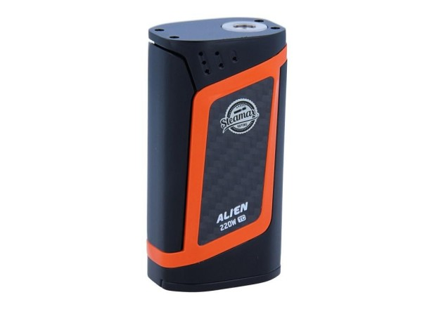 Steamax Alien Box Mod Set Schwarz Orange