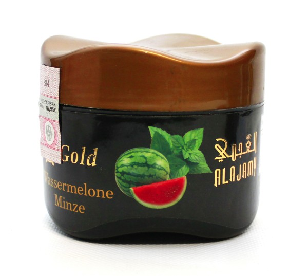 Al Ajamy Gold Watermelon Mint Shisha Tabak 200g