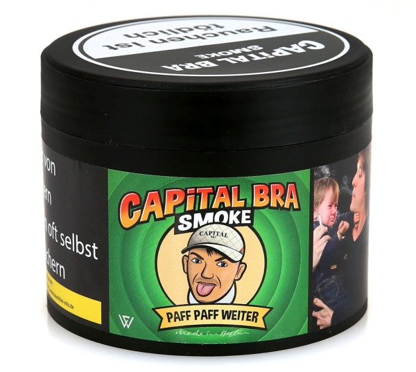 Capital Bra Paff Paff Weiter Shisha Tabak 200g