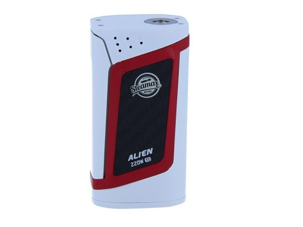 Steamax Alien Box Mod Set Weiß Rot