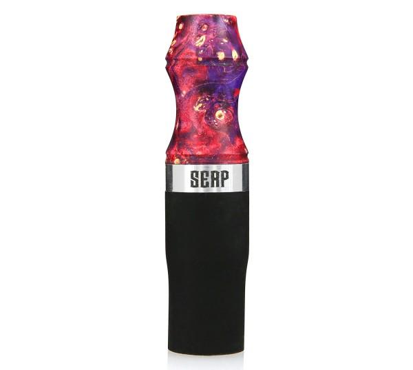 Serp Mouth-Tip Hygienemundstück Red-Purple