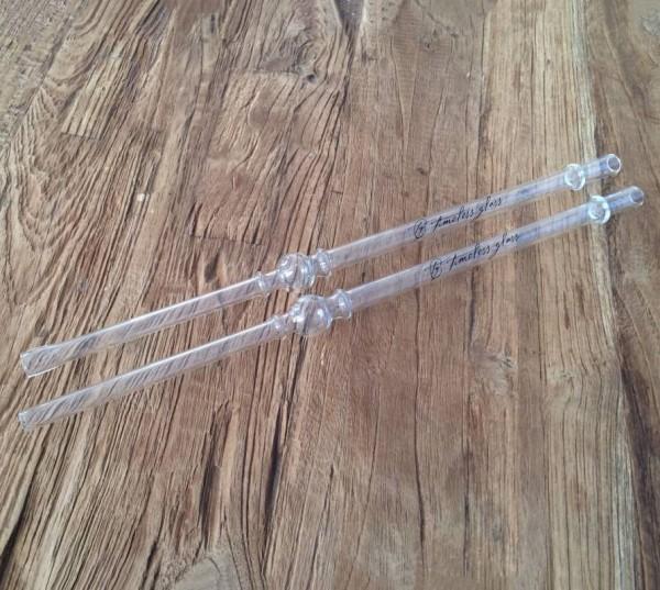 Timeless Glass Zepter Slimline Mundstück ovale Öffnung