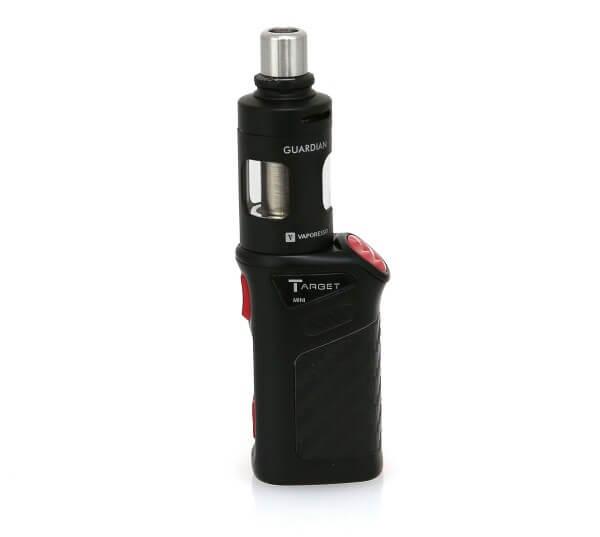 Vaporesso Target Mini 1400 mAh Guardian Tank Full Kit E-Zigarette Starterset Schwarz