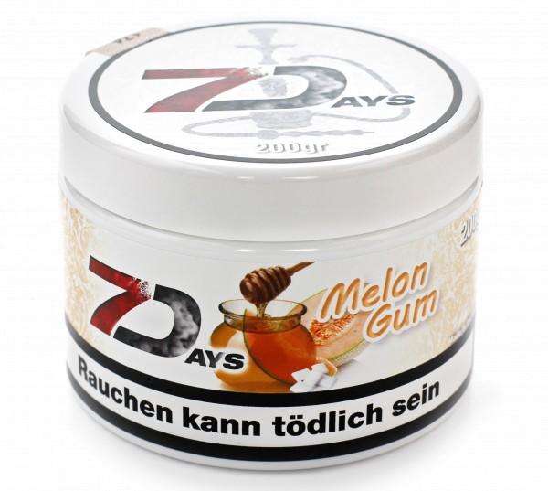 7Days Melon Gum Shisha Tabak 200g