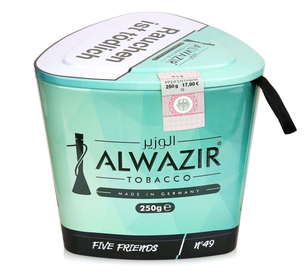 Alwazir No. 49 FIve Friends Shisha Tabak 250g