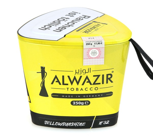 Alwazir No. 32 Yellow Shunshine Shisha Tabak 250g