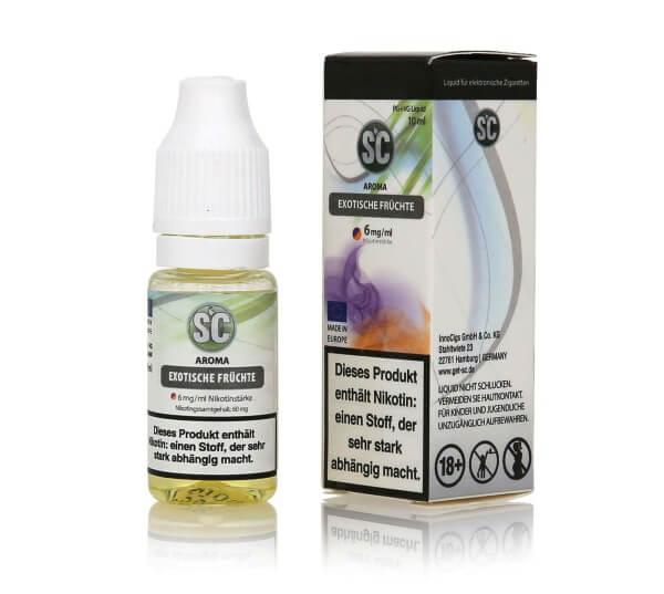 SC Exotische Früchte E-Zigaretten Liquid